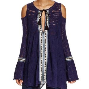 FREE PEOPLE For The Love Of Flowers Tunic NWT